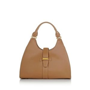 Platinum Luxe Leather City Chic Handbag 442168